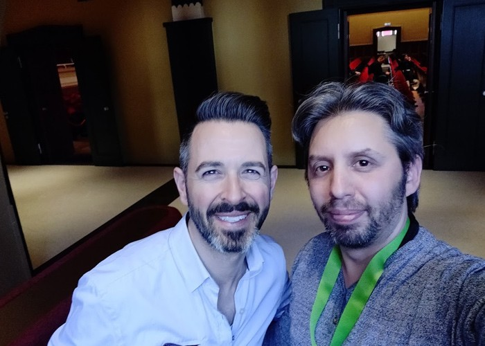 Rand Fishkin and Shmul Yoastcon 2019