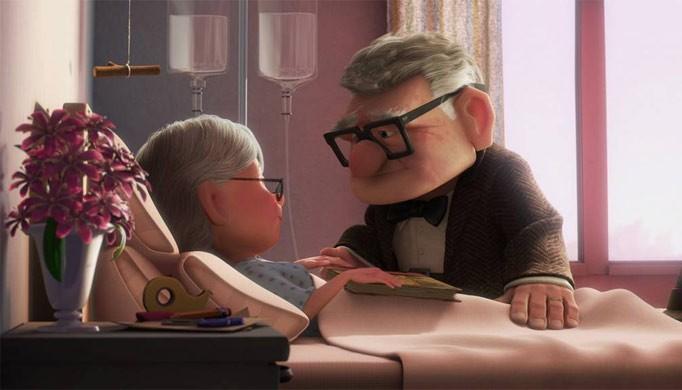 הזוג המבוגר מהסרט UP